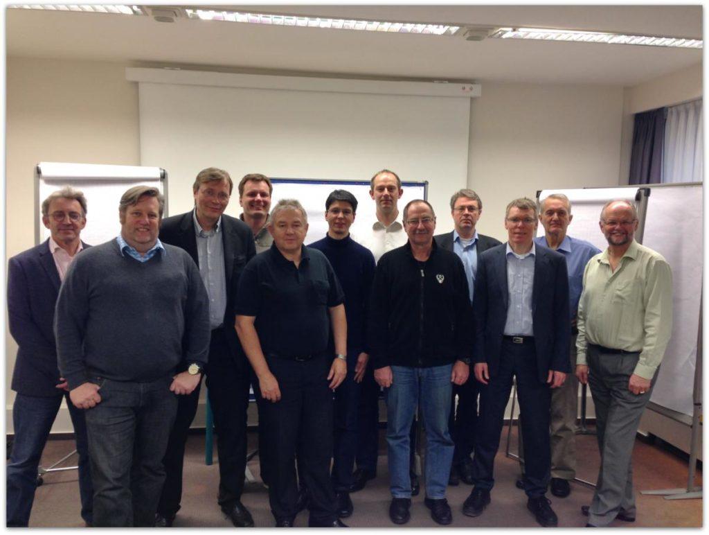 Das Team des ersten PRINCE2 Professional Assessment Centers in Deutschland